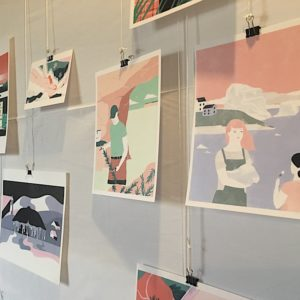 Art of Robyn Flanagan at Unscripted Twillingate Digital Arts Festival