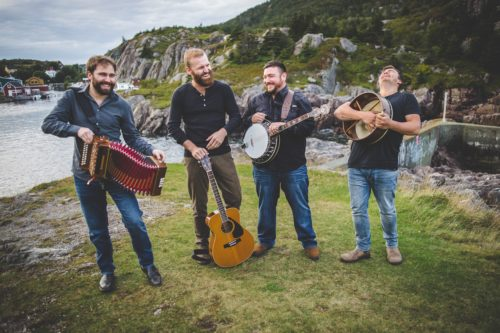 Newfoundland band, Rum Ragged performs at the Unscripted Festival Saturday Soirée